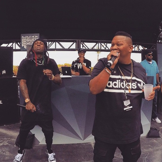 Mannie Fresh Teases A New Song With Lil Wayne For Their EDM Joint Project