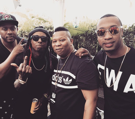 Lil Wayne Reunites With Mannie Fresh On Stage At Red Bull Guest House 2015