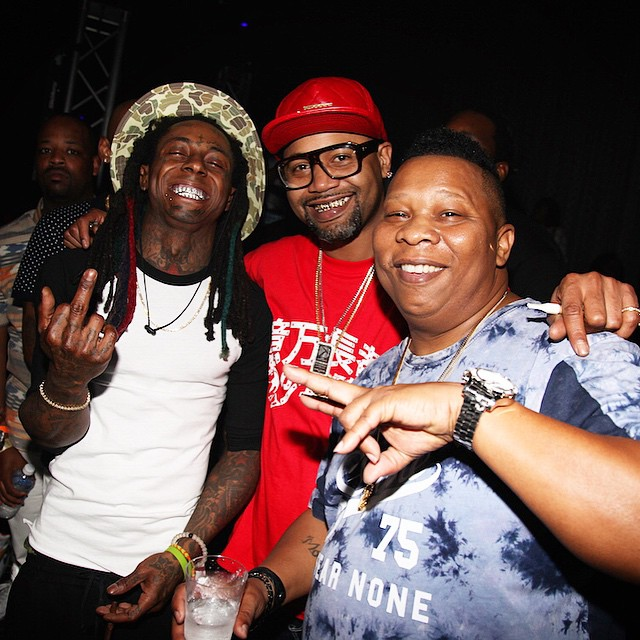 Lil Wayne Reunites With Juvenile & Mannie Fresh In New Orleans, Performs Rollin & Back That Azz Up