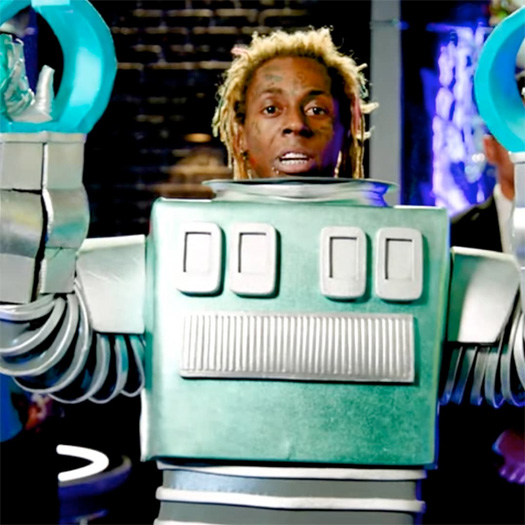 Lil Wayne Revealed As The Robot On The Masked Singer