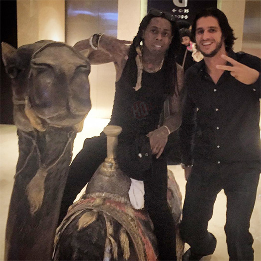 Lil Wayne Reveals What He Loves The Most About Dubai With A ColleGrove Song Playing In The Background
