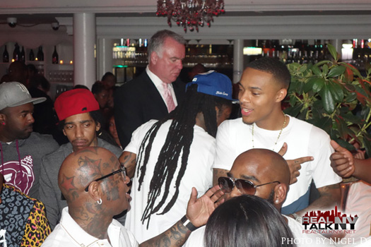 Lil Wayne Attends Rich Gang Album Release Party In New York