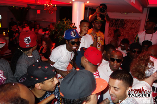 Lil Wayne Assiste rico Gang Album Release Party In New York