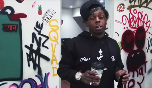 Lil Wayne, Rich The Kid & Chaz Ortiz Have A Skateboarding Sesh At The TRUKSTOP
