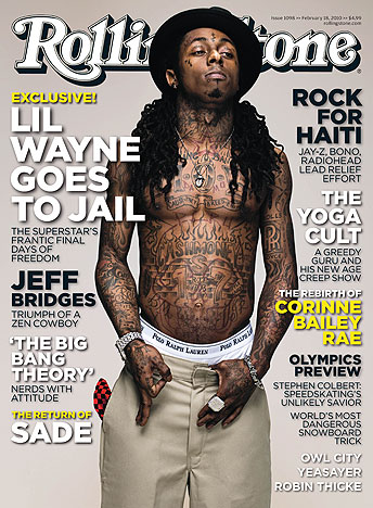 lil wayne dreads braided. Lil Wayne Covers Rolling Stone Magazine