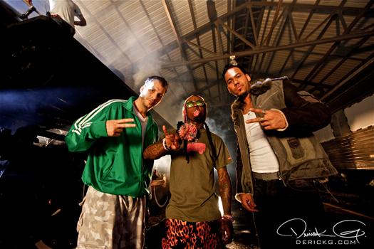 On Set Of Romeo Santos & Lil Waynes All Aboard Video Shoot