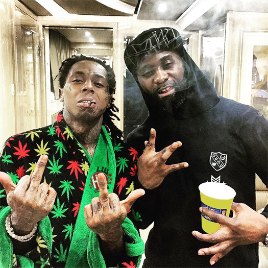 Lil Wayne Talks Shooting The Samsung & Apartments Commercials, Wants To Do More