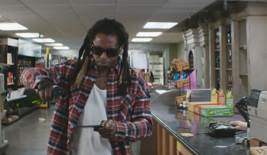 Lil Wayne Appears In Another Samsung Commercial Titled Champagne Shopping