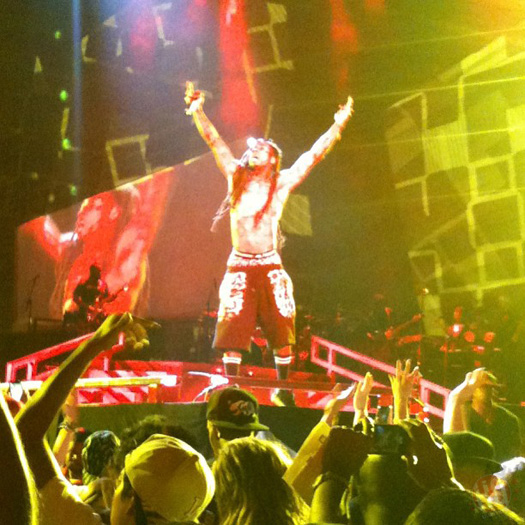 Lil Wayne Performs Live In San Diego On Americas Most Wanted Tour