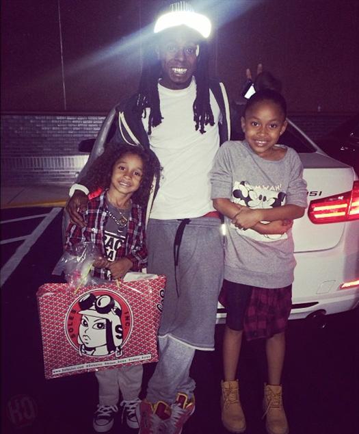 Lil Wayne Dwayne Carter Iii Lil Wayne & Sarah ...