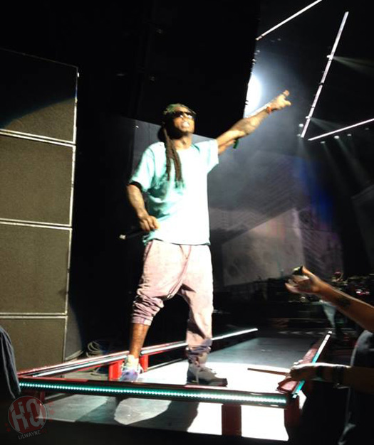Lil Wayne Performs Live In Saratoga Springs On Americas Most Wanted Tour