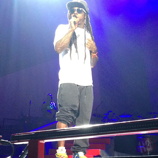 Lil Wayne Performs Live In Scranton On Americas Most Wanted Tour