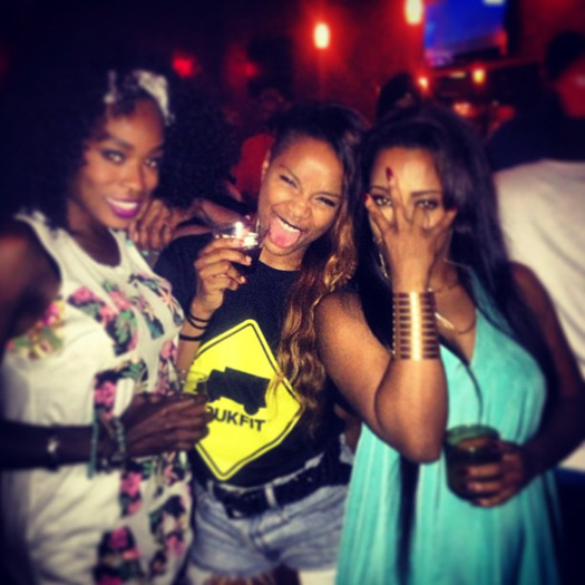 Lil Wayne Attends Shanell After-Party At The City UltraLounge In Nashville