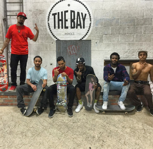 Lil Wayne Shows Off His Improved Skating Skills At The BAY Skatepark In Lincoln