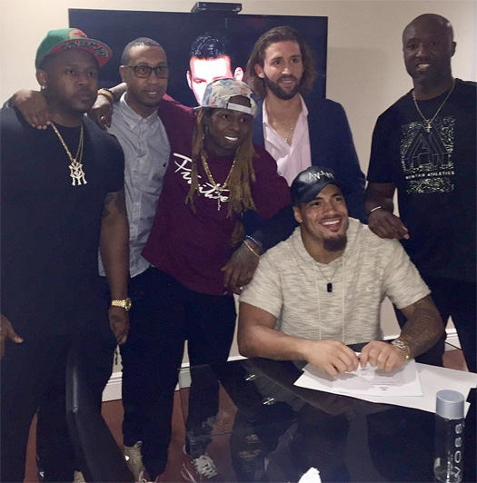 Lil Wayne Signs Duke Riley To His Young Money Sports Agency