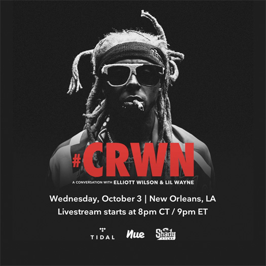 Lil Wayne To Sit Down With Elliott Wilson For A CRWN Interview