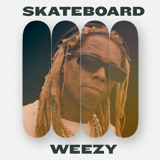 Lil Wayne Releases A 4 Song EP Titled Skateboard Weezy