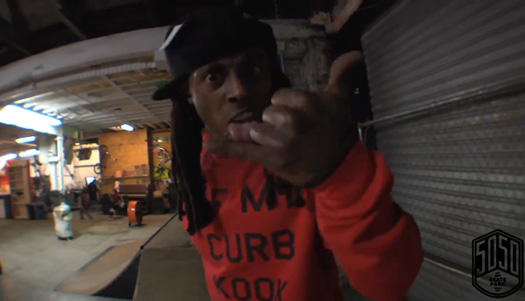 Lil Wayne Has A Private Skating Session At 5050 Skatepark In Staten Island New York