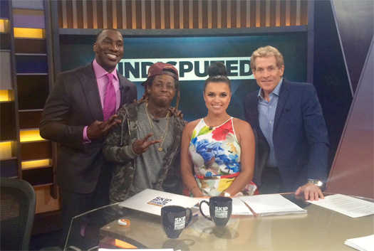 Lil Wayne Appears On Skip And Shannon Undisputed, Addresses Retirement Tweets, Artists Supporting Him & Birdman