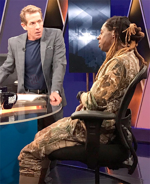 Skip Bayless Speaks On His Friendship With Lil Wayne, Reveals A Good Deed Wayne Did For Craig Humphreys Son Sam
