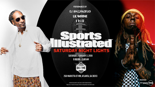 Lil Wayne & Snoop Dogg To Headline Sports Illustrated Pre Super Bowl Party