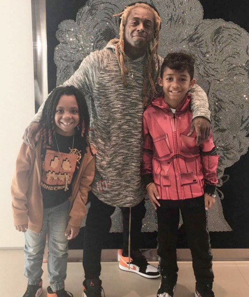 Lil Wayne Son Dwayne Michael Carter III Says His Father Had A Recent Studio Session With Chris Brown