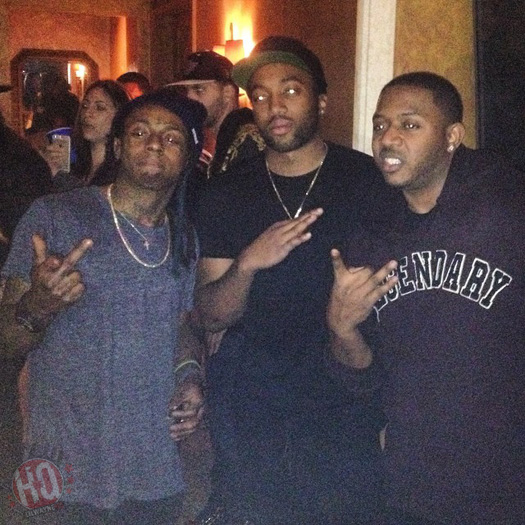 Pictures From Lil Wayne Sorry 4 The Wait 2 Listening Party At The Versace Mansion