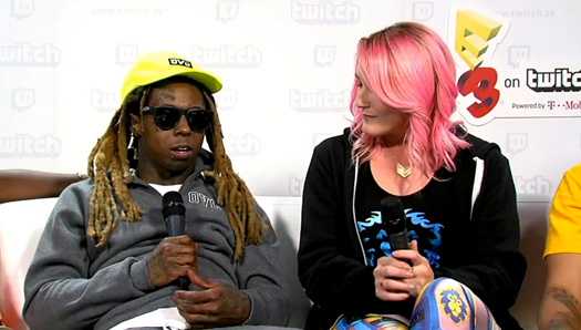 Lil Wayne Talks Sqvad Up Game, Using The Name Sqad Up, His Skate Crew & More At E3