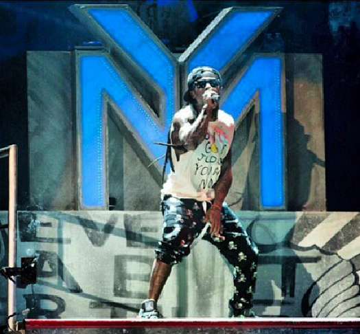 Lil Wayne Performs Live In St Louis On Americas Most Wanted Tour