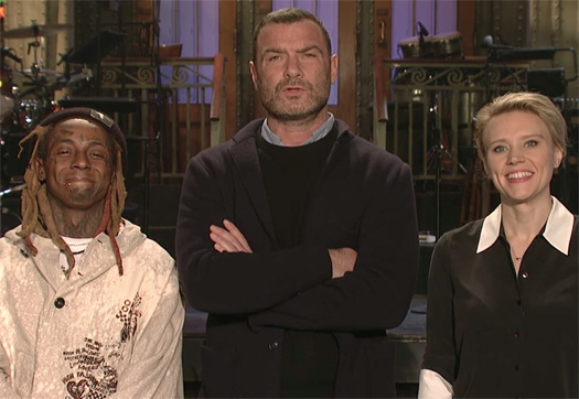 Lil Wayne Stars In Saturday Night Live Promo With Liev Schreiber