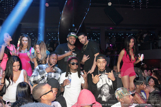 More Photos Of Lil Wayne At STORY Nightclub With Drake, Euro & Mack Maine