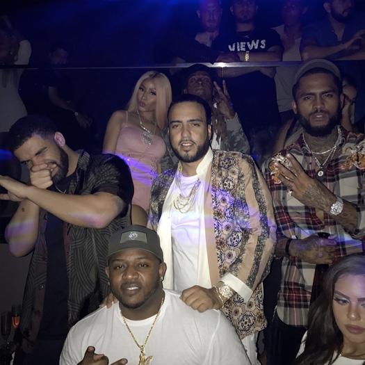 Lil Wayne Parties At STORY Nightclub With Drake, Nicki Minaj, Future, Dave East & More