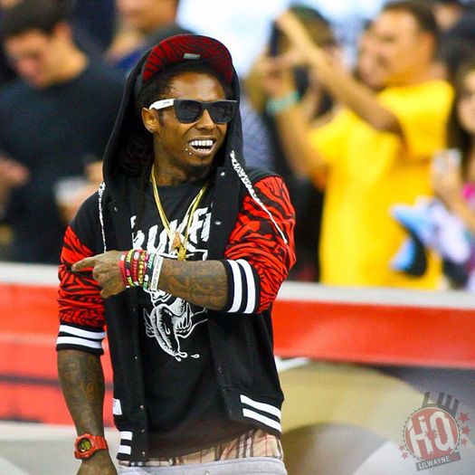 Lil Wayne Attends 2012 Street League Championships In New Jersey