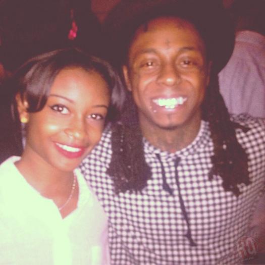 Lil Wayne Hits Up The Studio With B.o.B & Ashanti