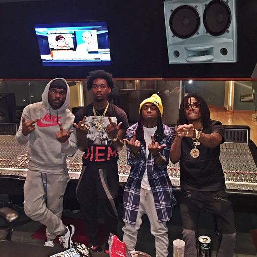 Migos Confirm They Recorded A Song With Lil Wayne For Their YRN Tha Album