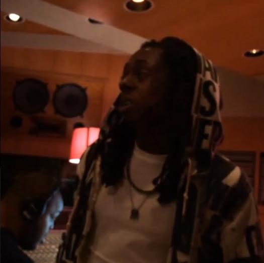 Lil Wayne Hits Up The Studio With Nicki Minaj, Doesnt Know What Instagram Is