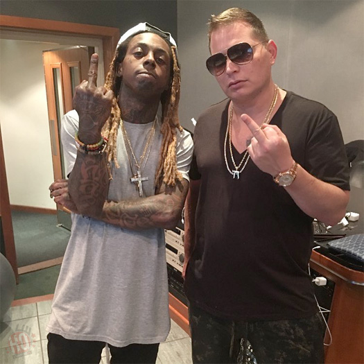 Lil Wayne Hits Up The Studio With Scott Storch
