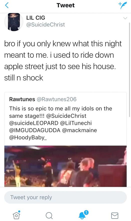 Lil Wayne Brings Out Suicideboys At The 2017 Blockfest Music Festival In Finland, Scrim Praises Wayne