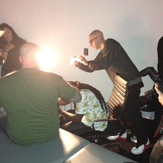 Lil Wayne Attends His SUPRA Spectre Shoe Launch, Tattoos BJ Betts & Chaz Ortiz