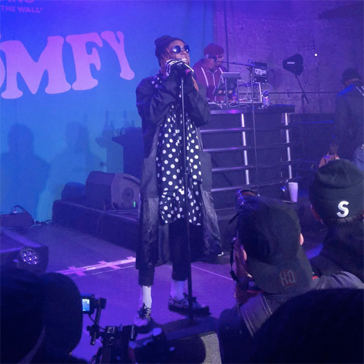 Lil Wayne Puts On A Surprise Live Performance At Vans ComfyCush High School Event
