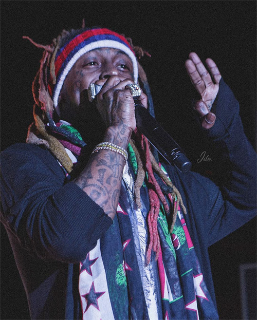 Lil Wayne Puts On A Surprise Live Show At The Confidante Miami Beach During 2018 Art Basel