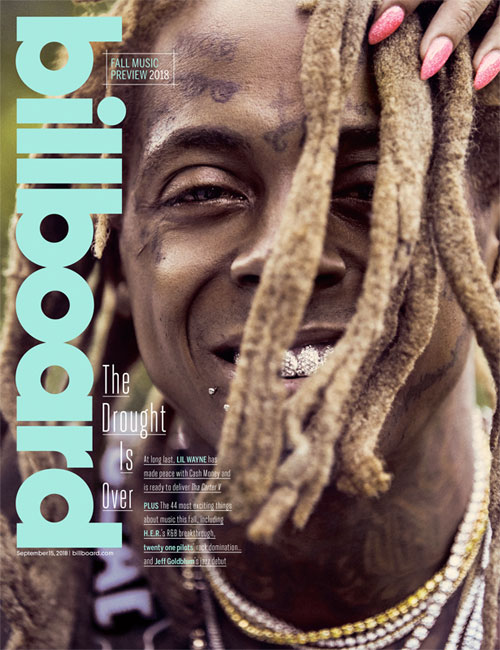 Lil Wayne Talks Tha Carter V, Attempting Suicide, Retirement, Young Money & More In Billboard 2018 Fall Issue