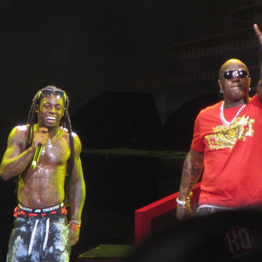 Lil Wayne Performs Live In Tampa Bay On Americas Most Wanted Tour