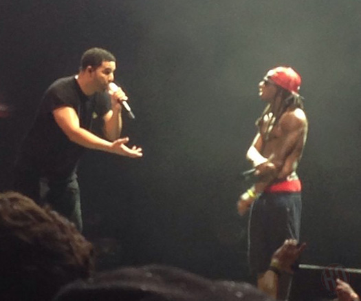 Lil Wayne & Drake Perform Live In Tampa Florida On Their Joint Tour