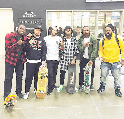 Lil Wayne Teases His New Skateboarding Video Part