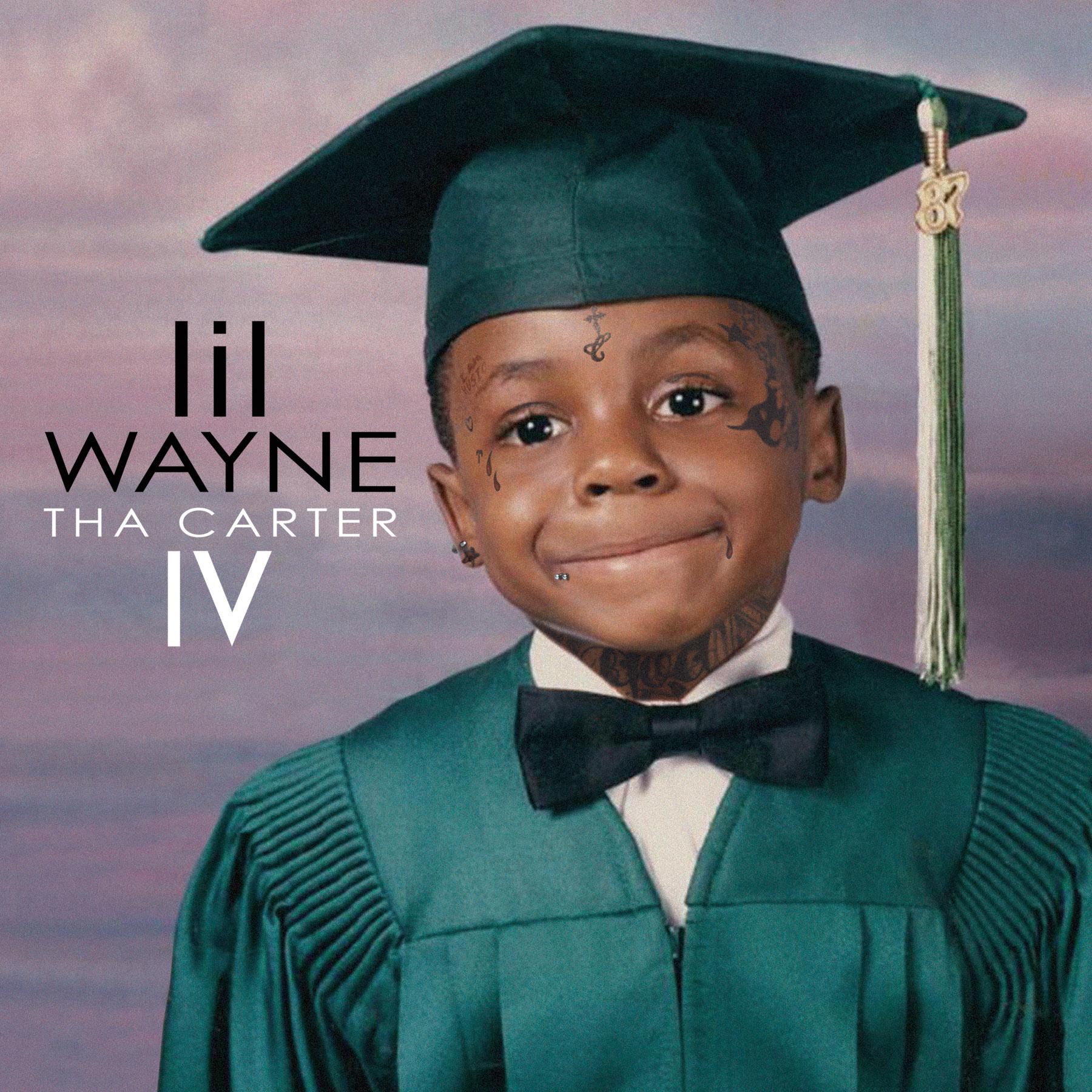 Lil Wayne's Tha Carter IV Official Album Cover