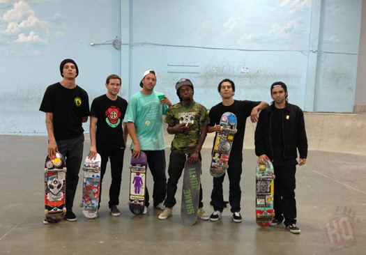 Lil Wayne Stops By The Berrics Skatepark In Los Angeles For A Skating Session