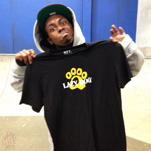 Lil Wayne Goes Skating At The Berrics Skatepark In Los Angeles