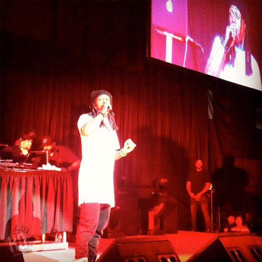 Lil Wayne Throws Mic At DJ & Walks Off Stage At Nova Southeastern University Show