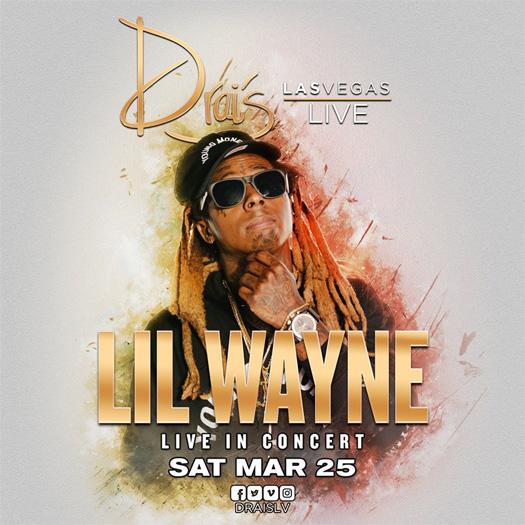 Lil Wayne To Party At Drais Nightclub In Las Vegas This Weekend